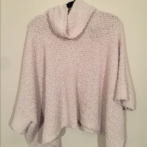 WORN ONCE Cowl neck sweater w/ long bell sleeves